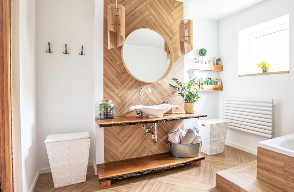 Comment décorer la salle de bain avec des meubles récup ?