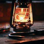 Lampe à l'huile ancienne